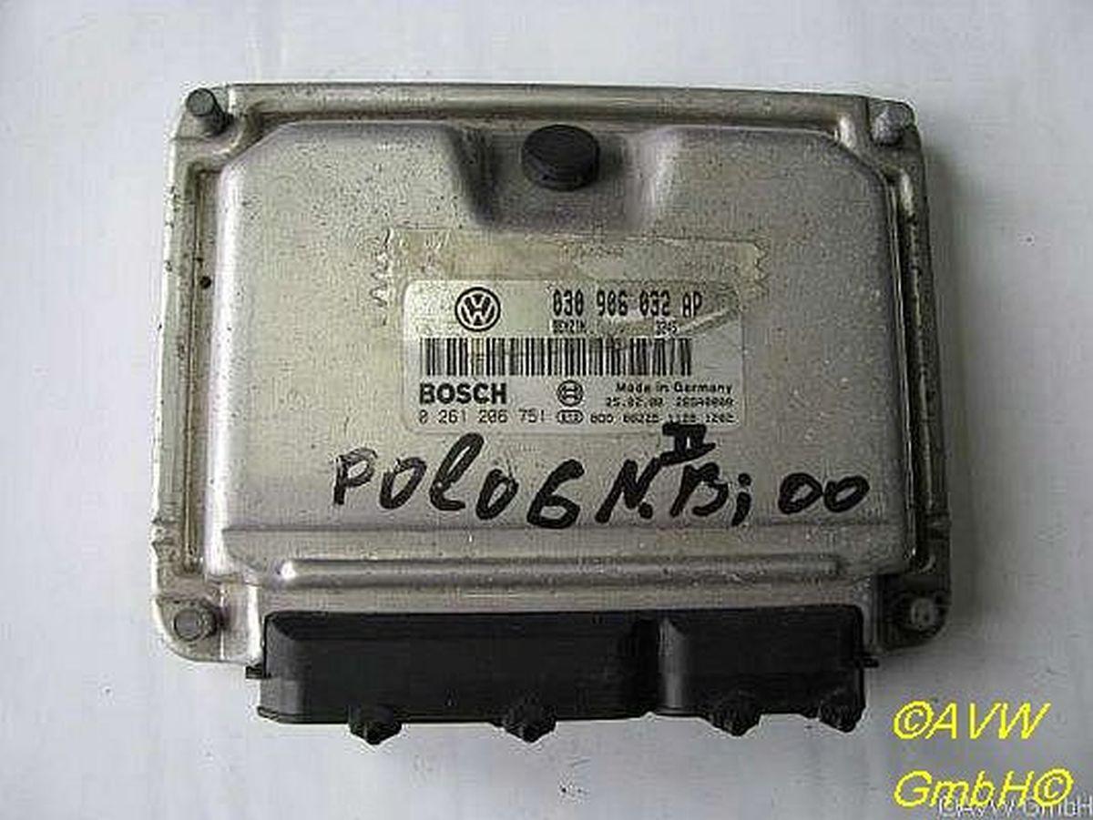 Steuergerät Motor 030906032AP VW POLO 6N2 1.4