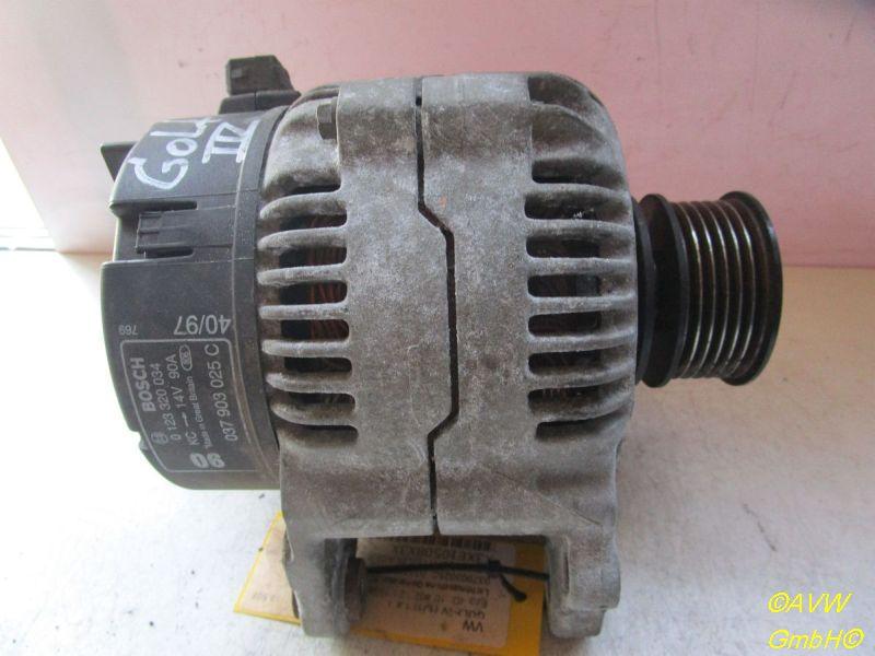 Lichtmaschine Generator 90AVW GOLF IV (1J1) 1.8 T