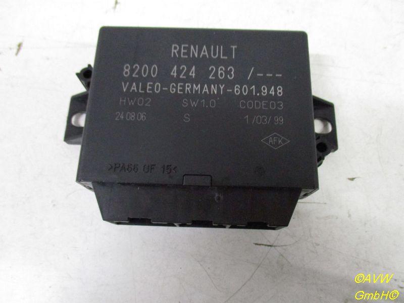 Steuergerät Einparkhilfe RENAULT MEGANE II KOMBI (KM0/1_) 1.6 16V