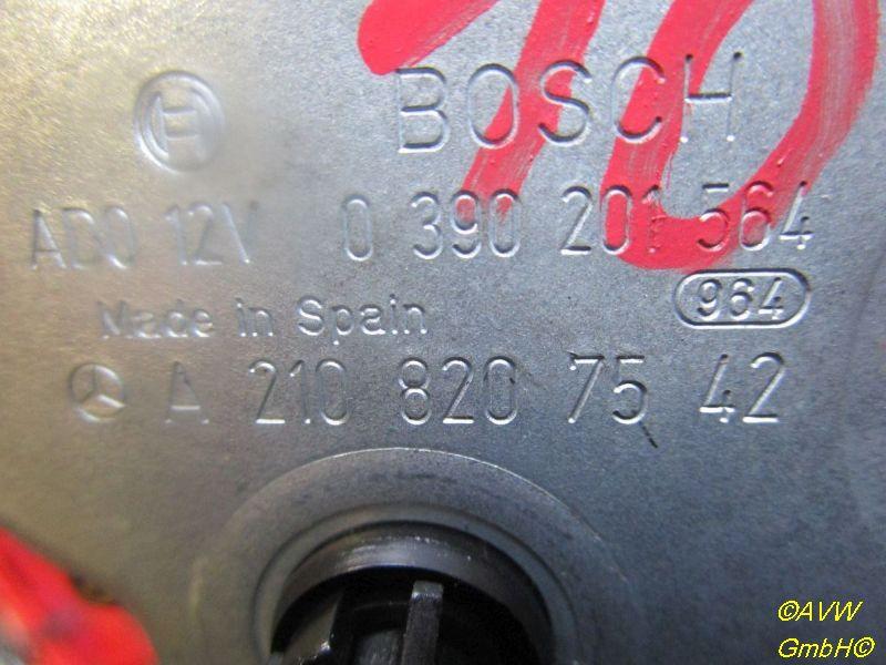Wischermotor hinten MERCEDES-BENZ E-KLASSE KOMBI S210 E 270 T CDI