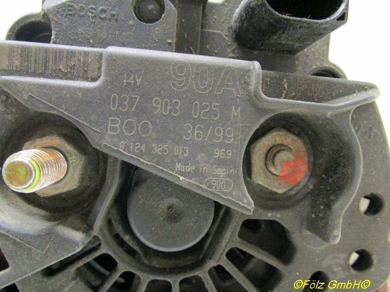 Lichtmaschine Generator 90ASEAT IBIZA III (6K1) 1.4