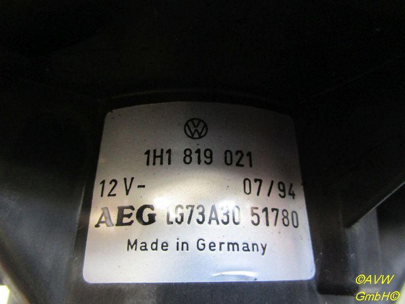 Innenraumgebläse VW GOLF III (1H1) 1.6
