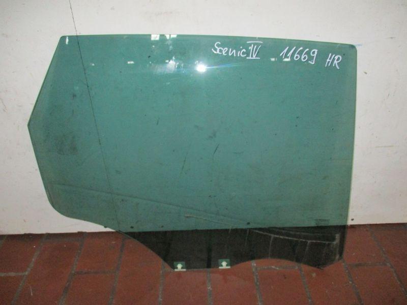 Türscheibe rechts hinten dunkel getöntRENAULT SCENIC IV (J9)