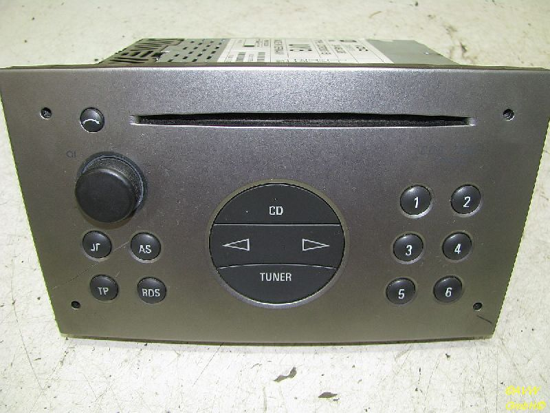 cd-radio 24469306 vdo cdr2005 mit code opel corsa c (f08, f68) 1.0