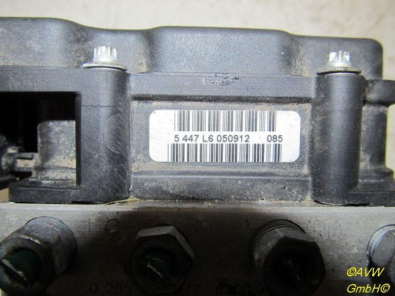 Bremsaggregat ABS RENAULT CLIO III (BR0/1, CR0/1) 1.2 16V