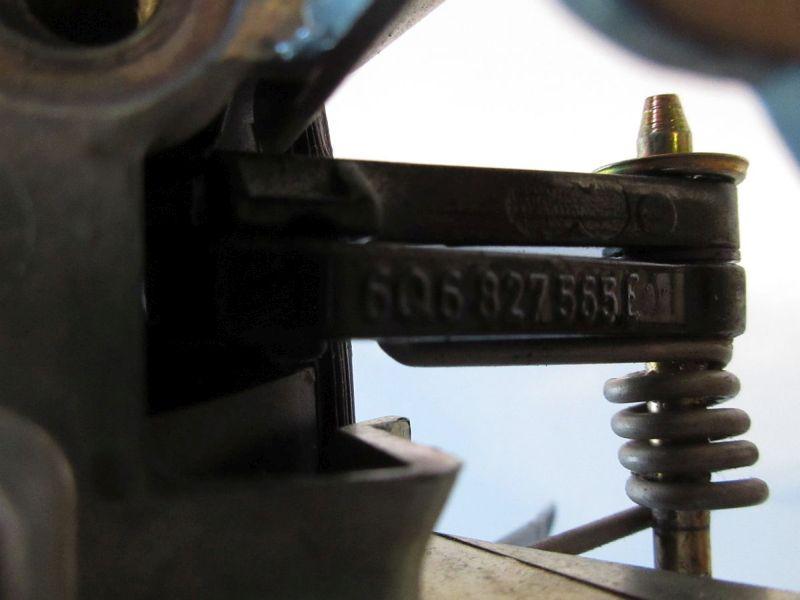 Heckklappengriff VW POLO (9N_) 1.4 16V