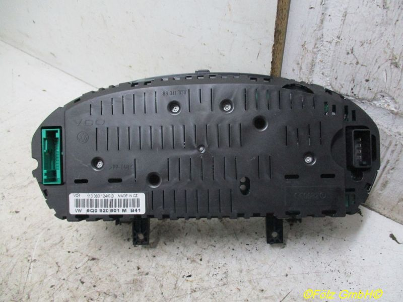Instrumentenkombination Tacho VW POLO (9N_) 1.4 TDI