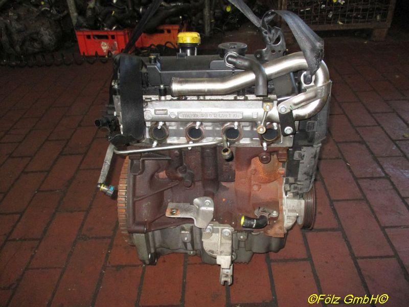 Motor ohne Anbauteile (Diesel) K9K808, ohne InjektorenRENAULT KANGOO EXPRESS (FW0/1_) 1.5 DCI 75