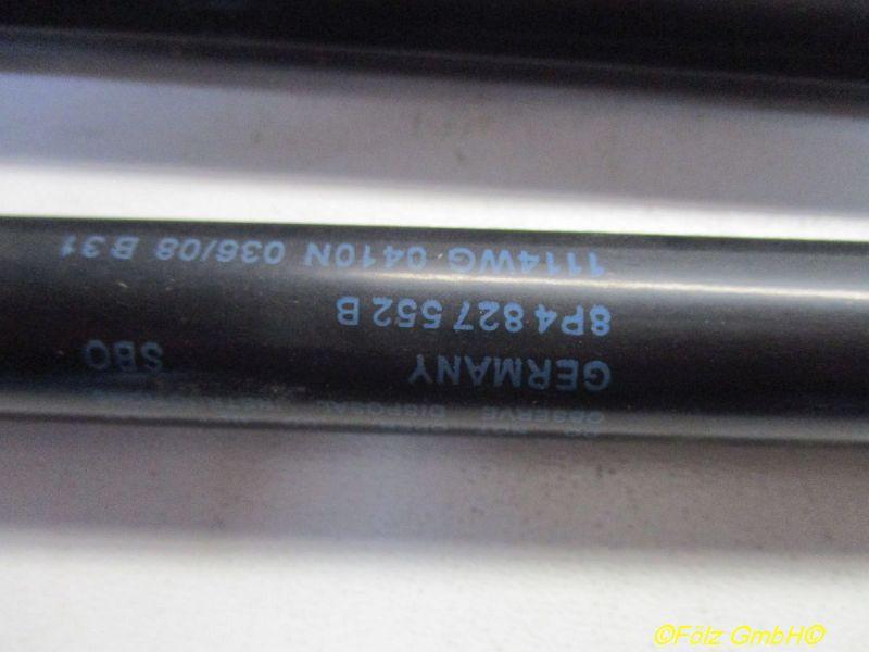 Gasdruckfeder hinten 2 Stück rost Siehe BildAUDI A3 SPORTBACK (8PA) 1.9 TDI