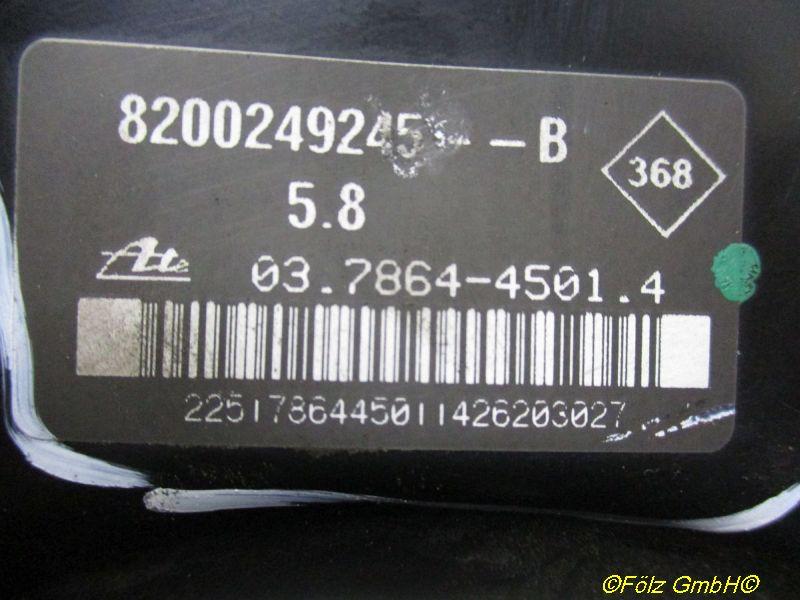 Bremskraftverstärker Beule siehe BildRENAULT CLIO III (BR0/1, CR0/1) 1.6 16V