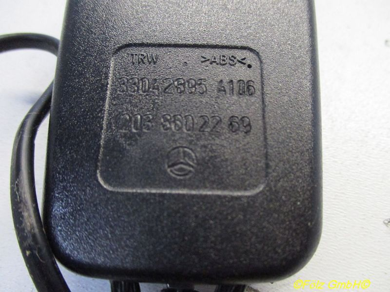 Gurtschloss Vorne Rechts Links Mit KabelMERCEDES-BENZ C-KLASSE T-MODEL (S203) C 200 CDI