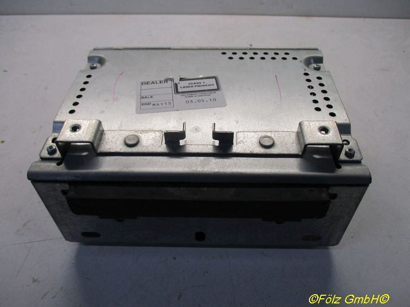 Radio/CD-Wechsler-Kombination Radio AHUFORD FIESTA VI 1.6 TDCI
