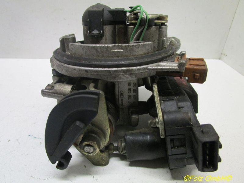 Vergaser/Zentraleinspritzeinheit RENAULT CLIO I (B/C57_, 5/357_) 1.4  (B57J, C57J
