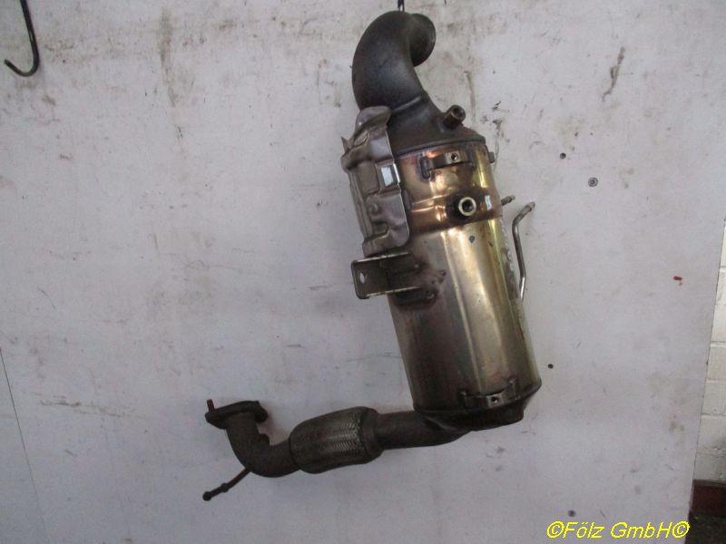 Katalysator (geregelt) DPF Dieselpartikelfilter, mit FlexrohrFORD FIESTA VI 1.6 TDCI