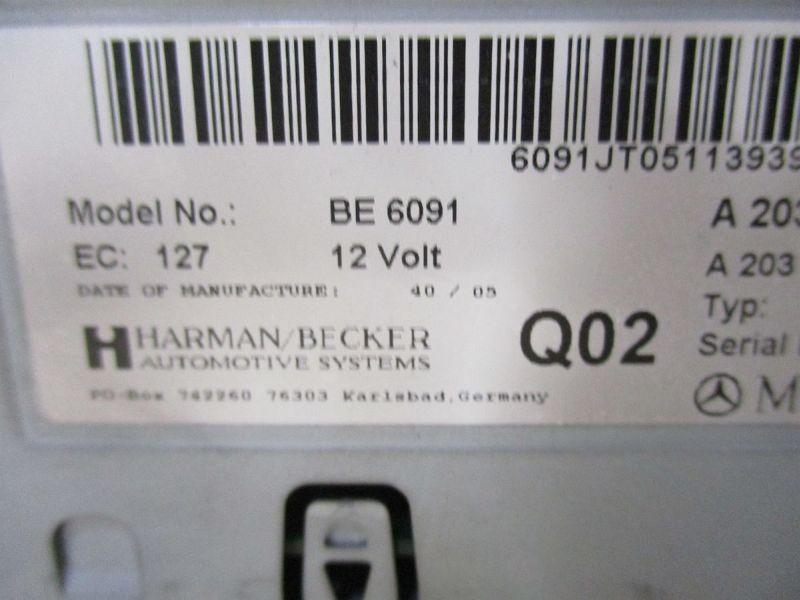 Radio/Navigationssystem-Kombination NaviMERCEDES-BENZ C-KLASSE T-MODEL (S203) C 220 CDI