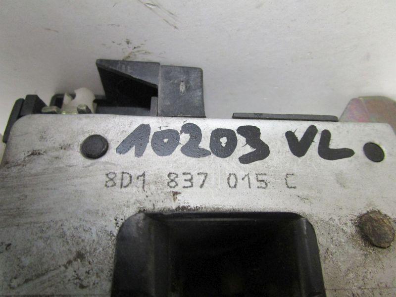Türschloss links vorn Mit ZV UnterdruckAUDI A4 (8D2, B5) 2,6