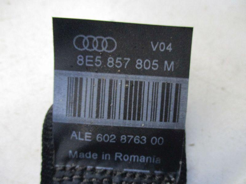Sicherheitsgurt links hinten AUDI A4 AVANT (8ED, B7) 2.0 TDI