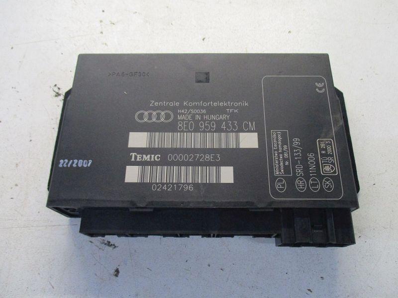 Steuergerät KomfortsteuergerätAUDI A4 AVANT (8ED, B7) 2.0 TDI