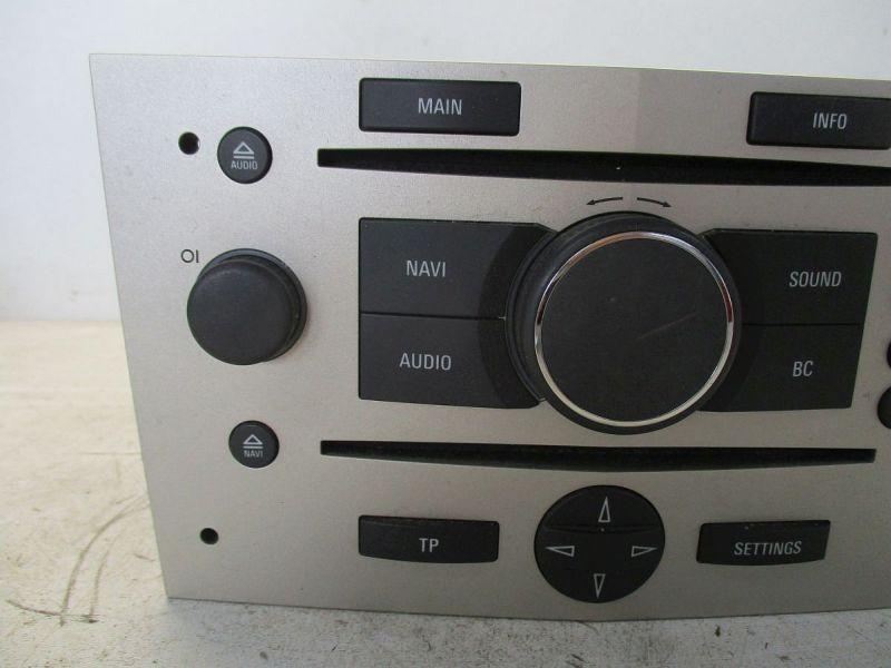 Radio/Navigationssystem-Kombination ResettetOPEL ZAFIRA B (A05) 1.7 CDTI