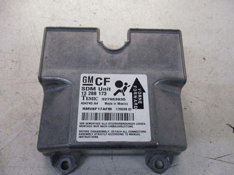 Steuergerät Airbag OPEL ZAFIRA B (A05) 1.7 CDTI