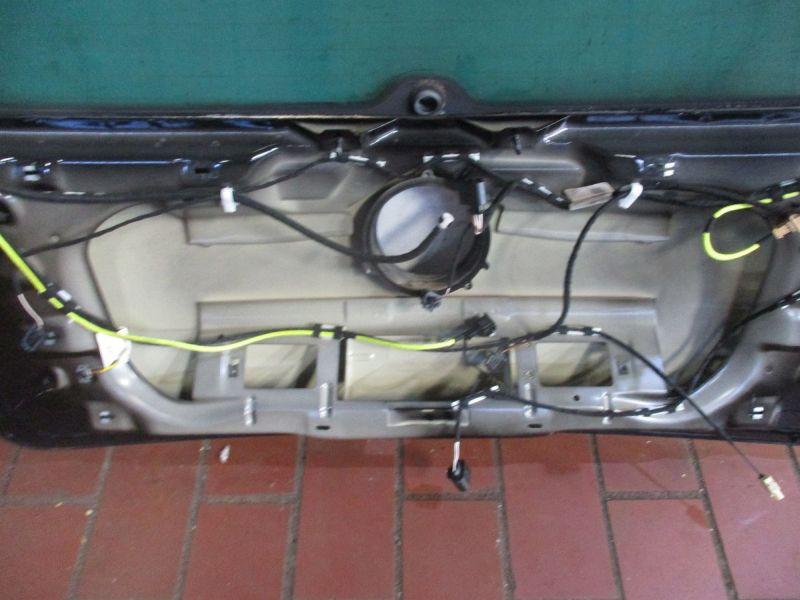 Heckklappe ZV Schwarz L041VW GOLF V (1K1) 1.6