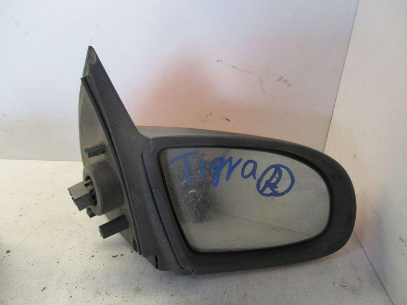Außenspiegel elektrisch lackiert rechts orange, leichte KratzerOPEL TIGRA (95_) 1.6 16V