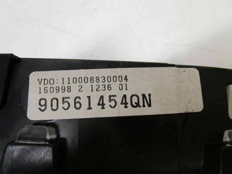 Instrumentenkombination Tacho KM Stand: Nicht bekanntOPEL ASTRA G CC (F48_, F08_) 1.6