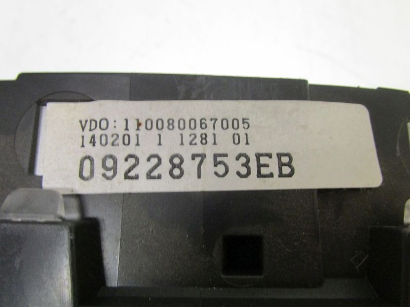 Instrumentenkombination Tacho KM Stand: 140310OPEL ASTRA G CARAVAN (F35_) 1.6 16V