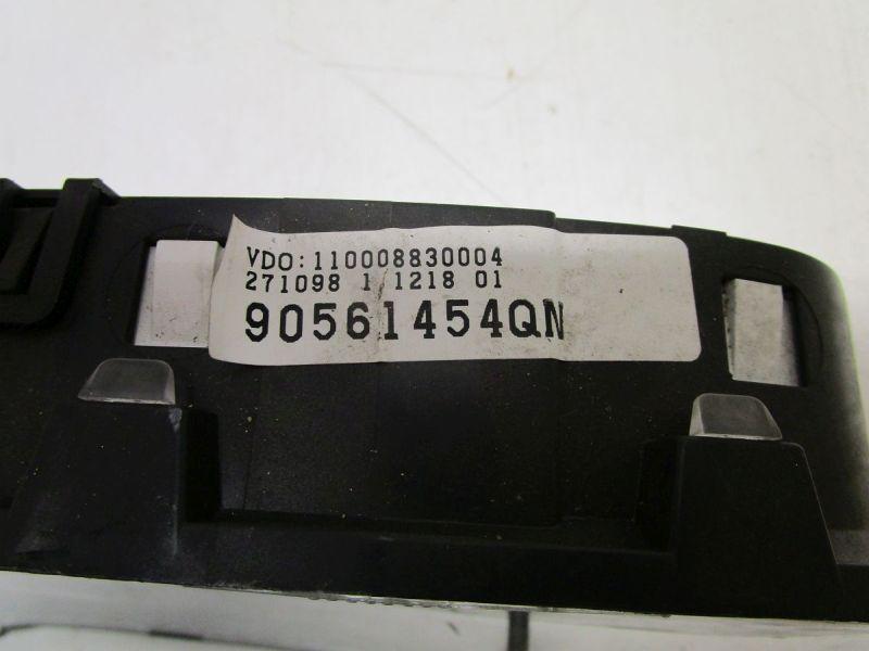Instrumentenkombination Tacho KM Stand: 104300OPEL ASTRA G CARAVAN (F35_) 1.6