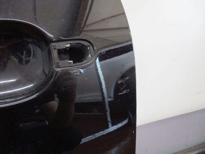 Tür links 3-Türer Schwarz L041 leichte Kratzer / Kratzer siehe BildVW POLO (9N_) 1.4 TDI