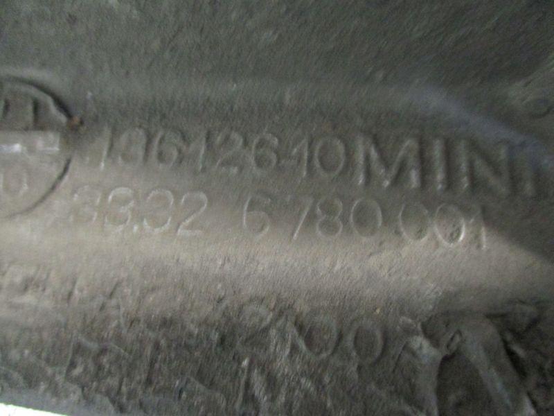 Radlagergehäuse Achsschenkel links hinten MINI MINI (R50, R53) COOPER