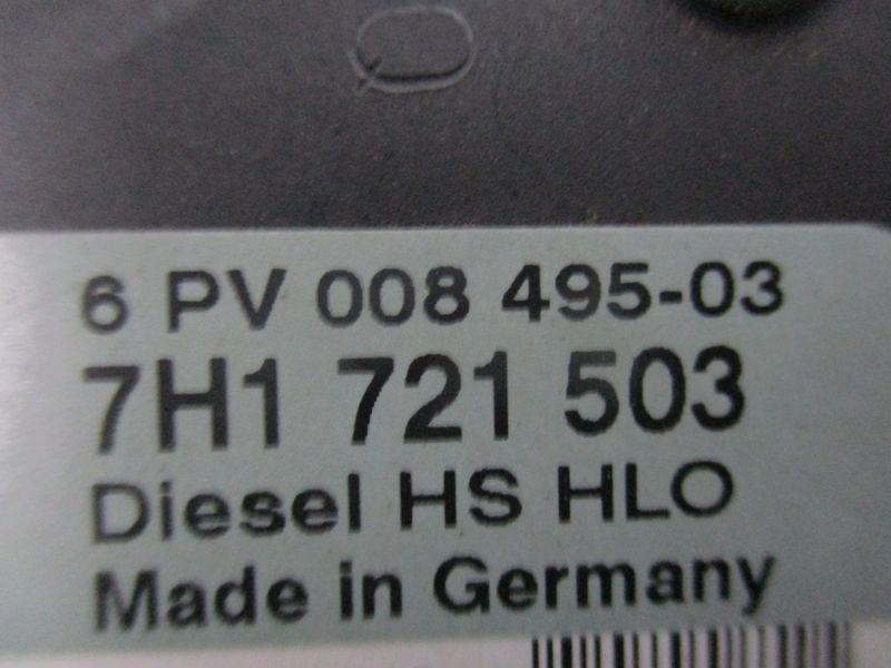 Pedalwertgeber Gaspedal VW TRANSPORTER V KASTEN (7HA, 7HH, 7EA, 7EH
