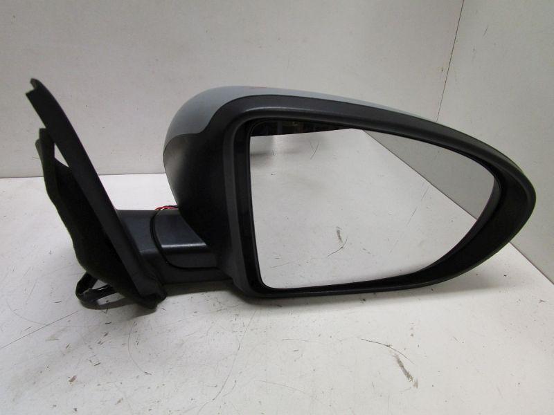 Außenspiegel elektrisch Standard rechts Grau. Spiegelglas eingerissen(Bild)NISSAN QASHQAI  2 I (J10, JJ10) 2.0 DCI AWD