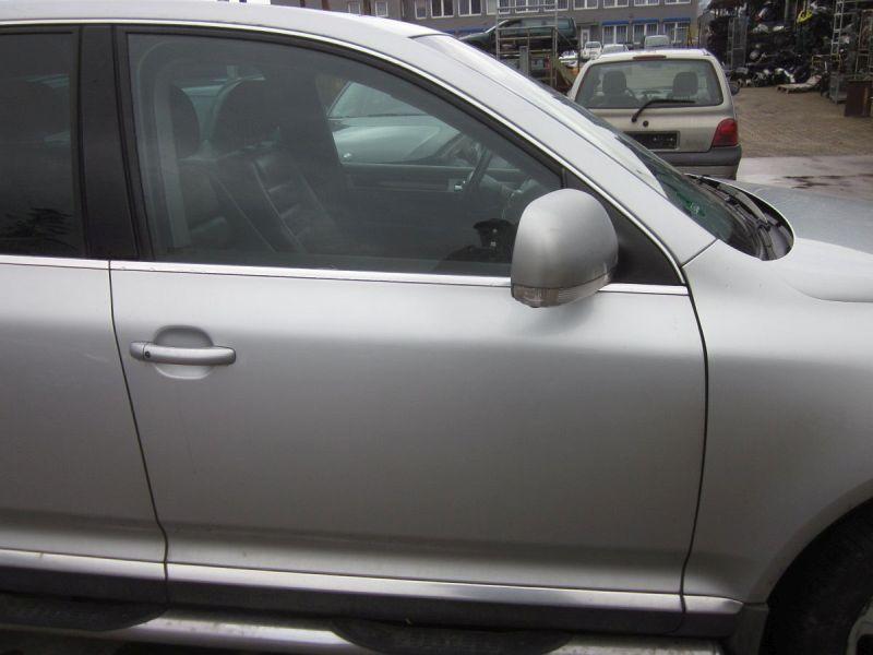 Tür rechts vorn LA7W Türblatt ohne Anbauteile,Kratzer siehe FotoVW TOUAREG (7LA, 7L6, 7L7) 5.0 V10 TDI