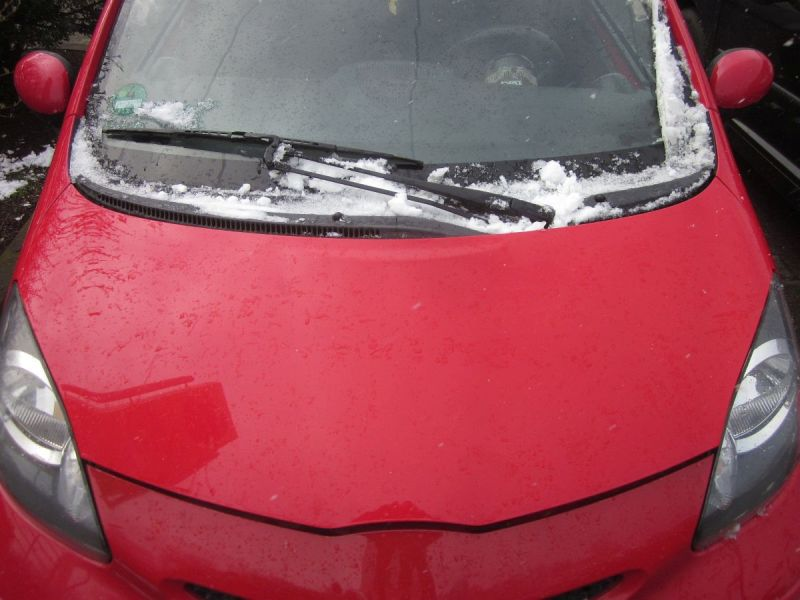 Motorhaube Rot FD10 Kratzer siehe FotoTOYOTA AYGO (WNB1_, KGB1_) 1.0