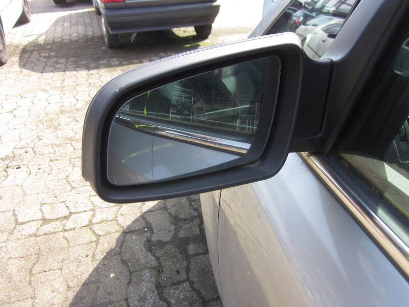 Außenspiegel elektrisch lackiert links schwarz,beheizt,Kratzer siehe FotoOPEL ZAFIRA B (A05) 1.6
