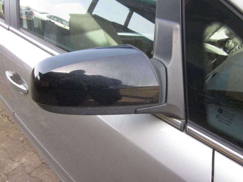 Außenspiegel elektrisch lackiert rechts schwarz,beheizt,Kratzer siehe FotoOPEL ZAFIRA B (A05) 1.6