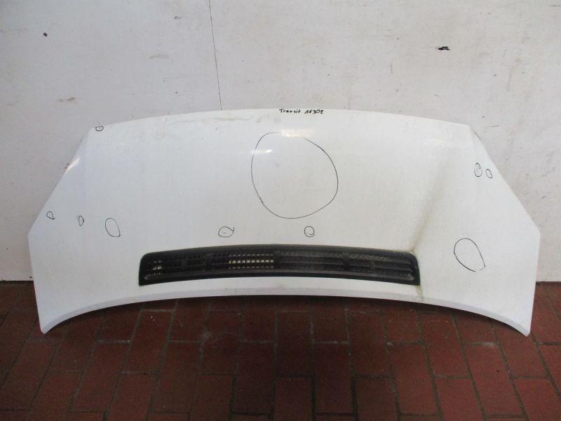 Motorhaube Frost  Weiß,Kratzer/Gebrauchsspuren, siehe BilderFORD TRANSIT KASTEN 2.2 TDCI