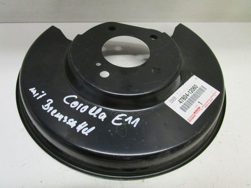 Verkleidung Staubabdeckung AnkerplatteTOYOTA COROLLA COMPACT (_E11_) 1,4