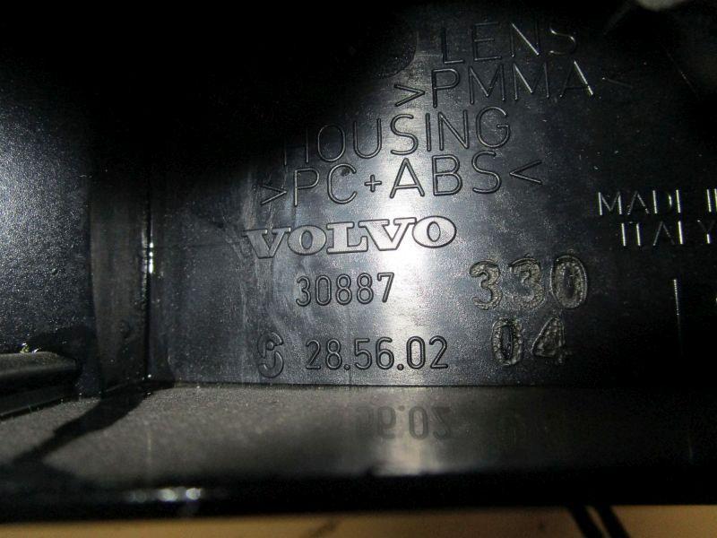 Rückfahrleuchte Rückleuchte rechts Eine Stelle eingerissen(Bild).VOLVO S40 I (VS) 1.9 DI