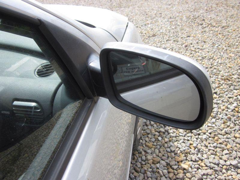Außenspiegel elektrisch lackiert rechts Grau Z157,Kratzer siehe FotoOPEL CORSA C (F08, F68) 1.2 TWINPORT