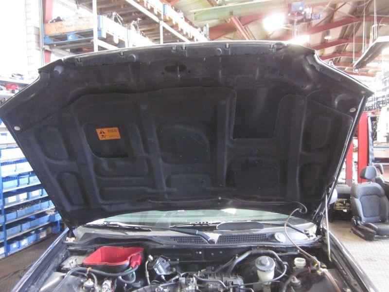 Motorhaube Schwarz NH605P,Kratzer siehe FotoHONDA CIVIC VI AERODECK (MB, MC) 1.4 16V