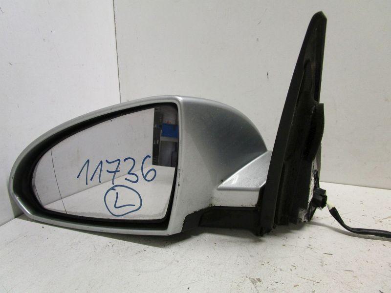 Außenspiegel elektrisch lackiert links Silber Met. KY0 KratzerNISSAN PRIMERA KOMBI (WP12) 1.8