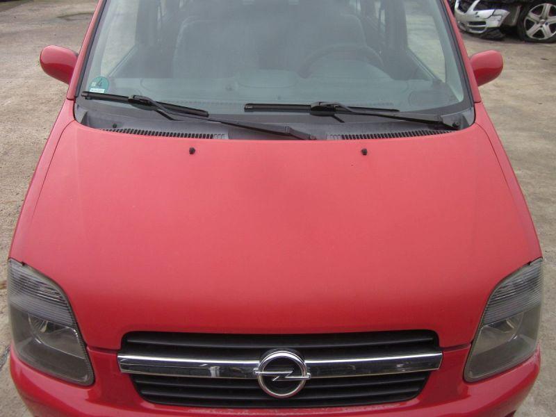 Motorhaube Rot Y547,kleine Steinschläge,Kratzer siehe FotoOPEL AGILA (A H00) 1.2 16V TWINPORT