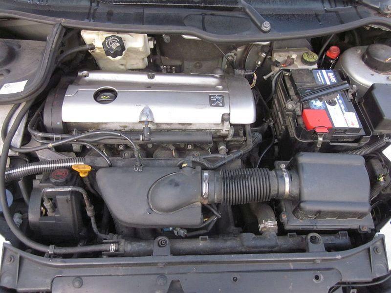 Motor ohne Anbauteile (Benzin) 140355 kmPEUGEOT 206 CC (2D) 2.0 S16