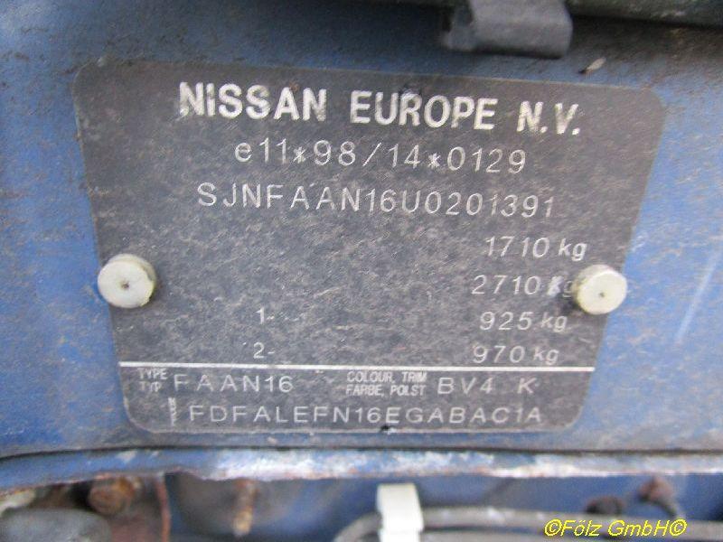 NISSAN ALMERA II HATCHBACK (N16) 1,5