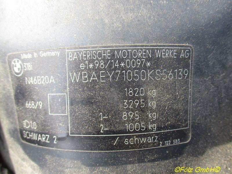BMW 3 (E46) 318I