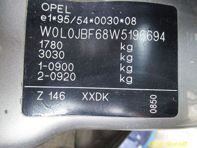 OPEL VECTRA B CC (38_) 1.6I 16V