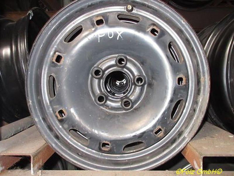 Stahlfelge 5JX14 H2 ET35 LK5X100X57