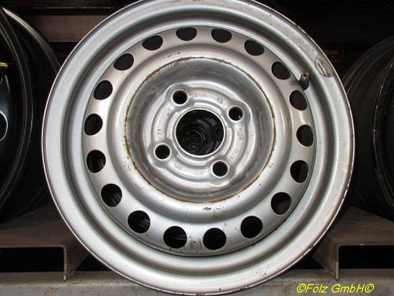 Stahlfelge 4.5JX13 H2 ET45 LK4X100X56,5